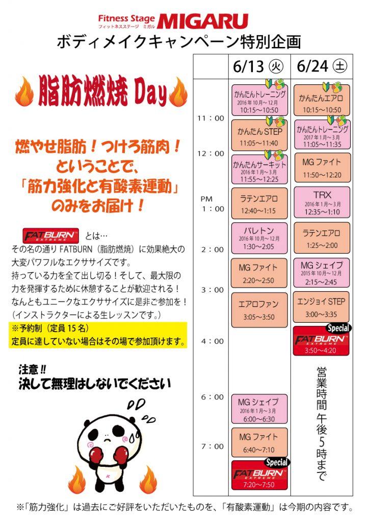 2906脂肪燃焼Day